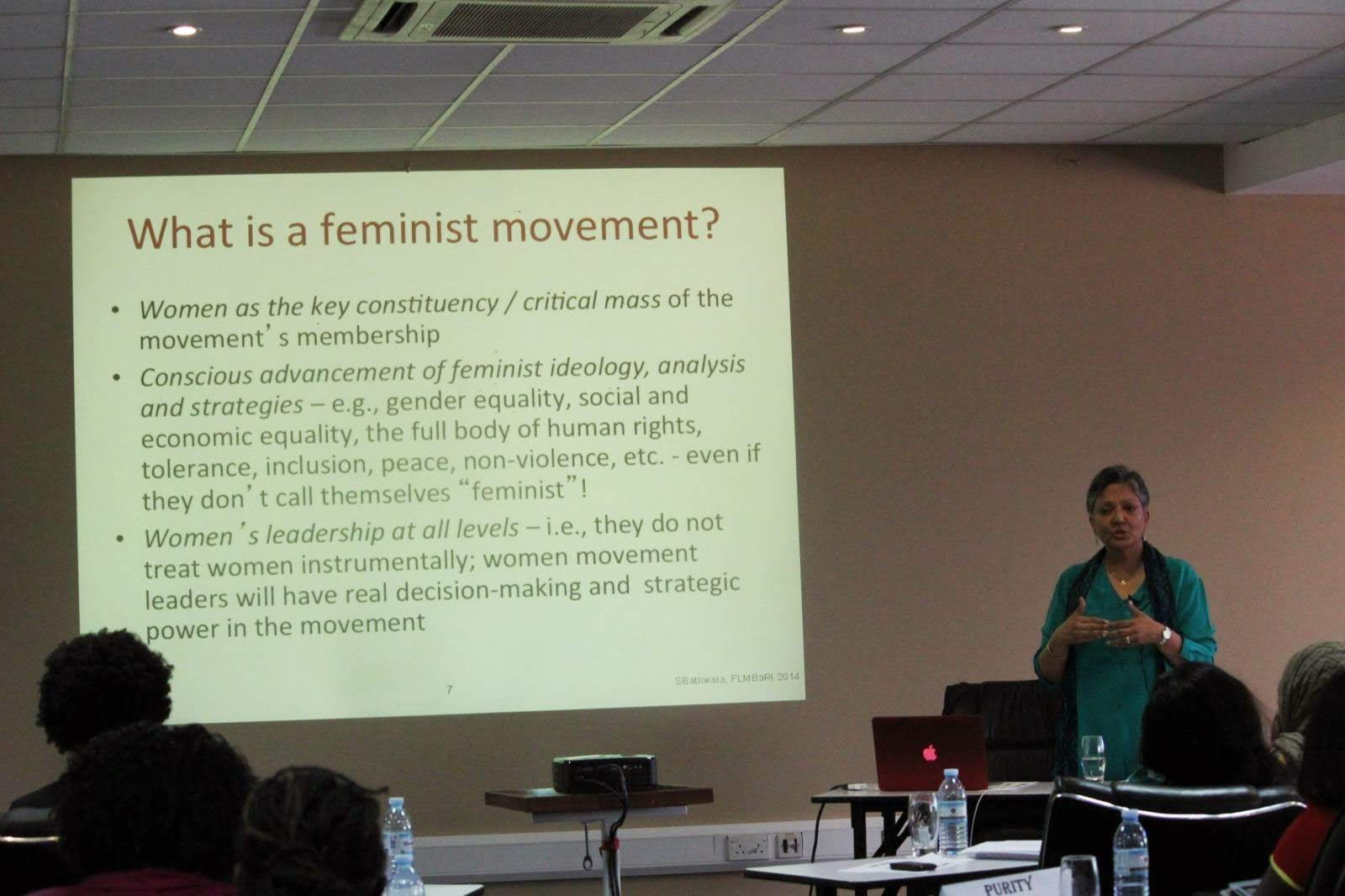 What is a feminist movement?